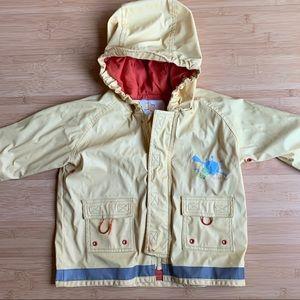 🍭Kushies hooded 🐢raincoat - 3T
